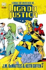 Liga da Justiça J.M. DeMatteis & Keith Giffen -Vol. 07