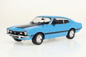 Miniatura Ford Maverick GT 1974 Azul 1/24 California Classics