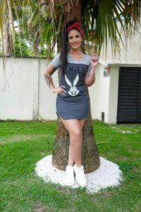 Vestido Pernalonga