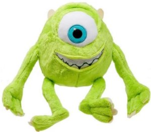 Bichinho de Pelúcia Disney Monstros SA Mike Wazowski 30cm Com Som