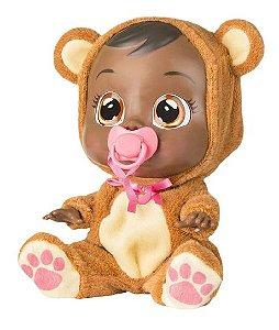 Boneca Cry Babies Bonnie Negra Sons E Fala De Verdade Br763