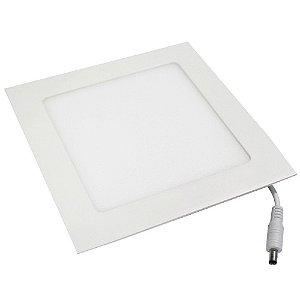 Painel Plafon 25w Led Quadrado Slim Para Embutir Teto Sanca Gesso