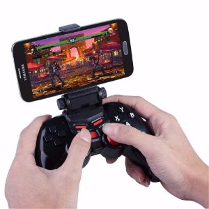 Controle Celular Joystick Dobe Bluetooth Gamepad Android Ios