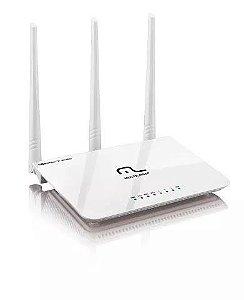 Roteador Wireles Wifi Sem Fio Multilaser 300mbps 3 Antenas
