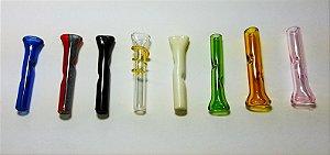 Piteira em Vidro Colorido - PACK COM 8 UNIDADES - 15% OFF