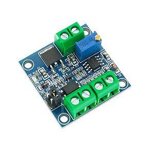 Módulo Conversor de Sinal PWM para Tensão Analógica de 0-10V