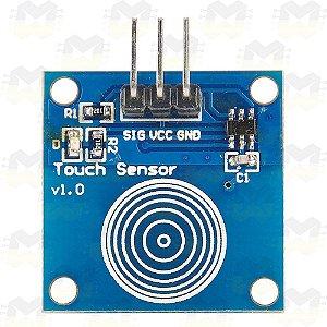 Sensor Capacitivo Touch (Toque) TTP223B