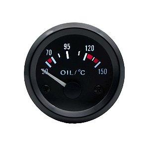Manômetro Gauge 52mm Marcador de Temperatura do Óleo