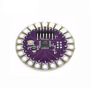 Placa compatível com Arduino Lilypad