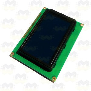 Display LCD Gráfico 128x64 com Backlight Azul