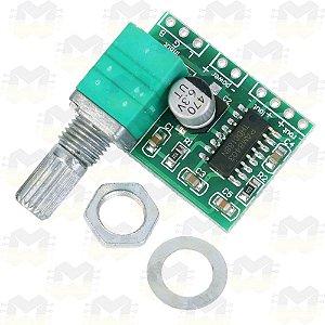 Módulo Amplificador de Som com Controle de Volume - PAM8403