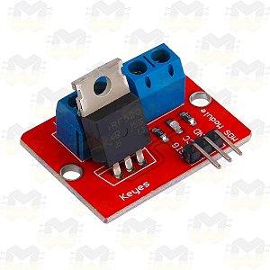 Módulo Driver para Motor DC / Fita de LED - IRF520