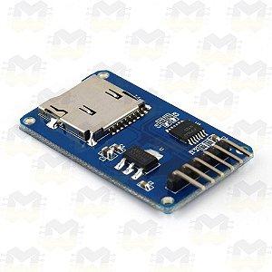 Módulo Leitor de Micro SD Card
