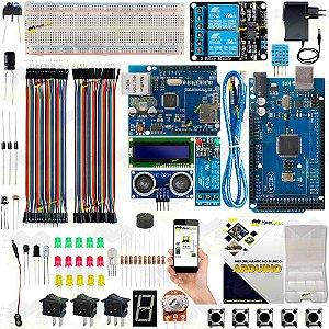 KIT Arduino Mega 2560 R3 Automação Residencial Android + Manual 2019 + Sensor Brinde