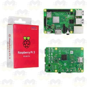 Raspberry Pi 3 Model B+ com WiFi e Bluetooth 4.2