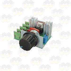Módulo Dimmer Rotativo AC de Alta Potência 2000W / 1000W Bivolt