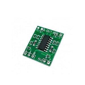 Amplificador de Som Estéreo 2 canais 3W + 3W - PAM8403