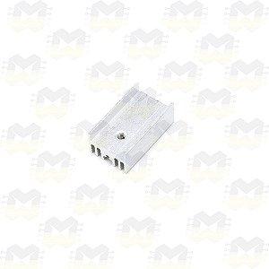Dissipador de Calor 25X15X10 para TO220 / TO-220