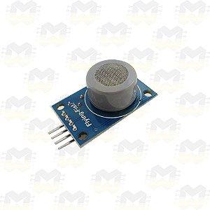 Sensor (Detector) de Gás Monóxido de Carbono - MQ-7