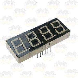 Display de 7 Segmentos 4 Dígitos
