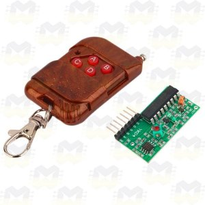 KIT Controle Remoto (Transmissor RF) e Receptor RF 315MHz