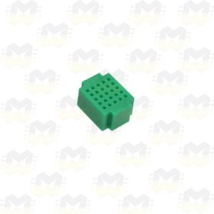 Mini Protoboard Verde de 25 Pontos (Lego)