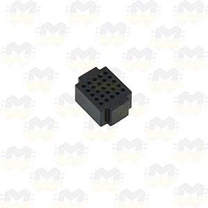 Mini Protoboard Preta de 25 Pontos (Lego)