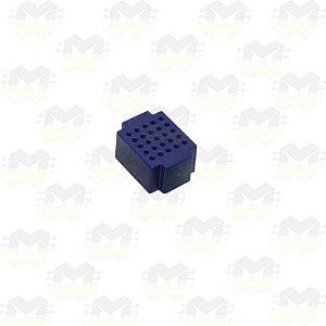 Mini Protoboard Azul de 25 Pontos (Lego)
