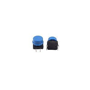 Chave Táctil 12x12x7.3 com Capa Azul