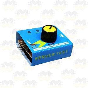 Testador de Servo 3 Canais (Servo Tester CCPM)