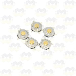 Chave Táctil / Push Button SMD 4x4x1.5 (5 unidades)
