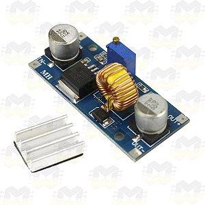 Módulo Regulador de Tensão Ajustável XL4015 5A DC-DC Step Down