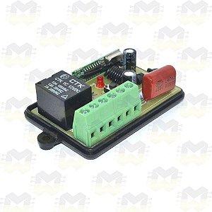 Módulo Relé de 1 Canal com RF 433MHz para Automação - 220V