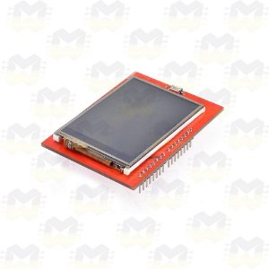 "Shield Display LCD TFT 2.4"" Touchscreen com Slot SD"