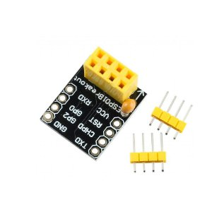 Adaptador de Pinos para o WiFi ESP8266 ESP-01