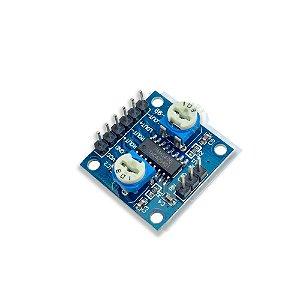 Amplificador de Som Estéreo 2 canais 5W + 5W - PAM8406