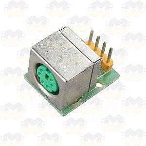 Módulo Adaptador Soquete PS2 para Mouse / Teclado