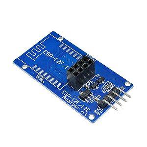 Adaptador para Módulo WiFi ESP8266 ESP-01 / ESP-12E / ESP-12F