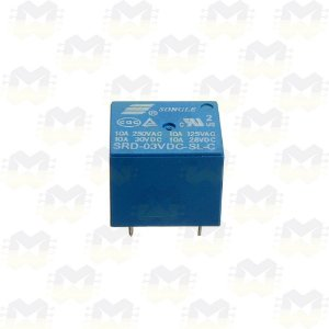 Relé 3V / 3.3V 10A Songle SRD-03VDC-SL-C