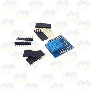 Shield Sensor de Umidade e Temperatura DHT11 para Wemos D1 Mini ESP8266 WiFi