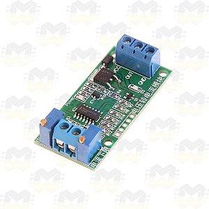 Módulo Conversor de Tensão 0 a 5V para Corrente 4 a 20mA