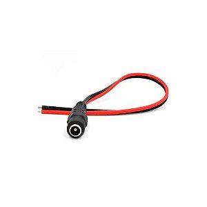Cabo Adaptador Conector Jack P4 Fêmea 5.5x2.1mm