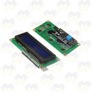 Display LCD 16x2 Backlight Azul com Adaptador I2C