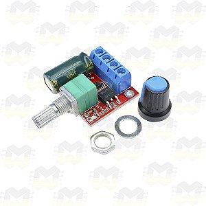 Controlador PWM 5A 4.5V a 35V para Velocidade de Motor DC