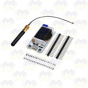 Placa WiFi Lora ESP32 868MHz / 915MHz com Display OLED 0.96″