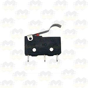 Chave Fim de curso (Micro Switch) KW11-3Z-3 com Haste em Curva