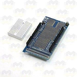 Mega Protoshield v3 (Protoboard 170 pontos) para Arduino