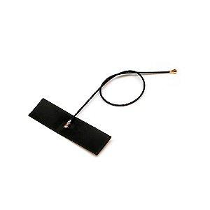 Antena de 2.4GHz 3dBi (Zigbee / Bluetooth / WiFi) com Conector IPEX