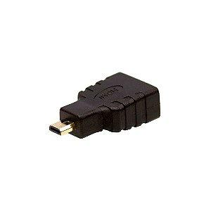 Adaptador HDMI Fêmea para Micro HDMI Macho