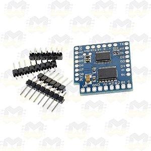 Shield Motor TB6612FNG I2C para Wemos D1 Mini ESP8266 WiFi